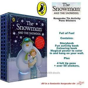 The Snowman and Snowdog Activity Tin £1 @ Tesco! RRP. £16.99