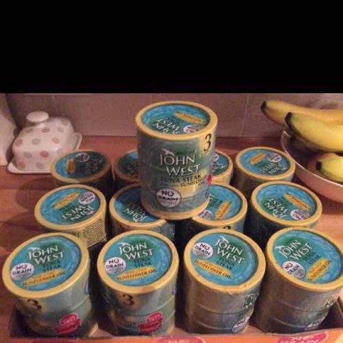 For the gym monkeys- john west no drain tuna x 3 £2.00 at pound world