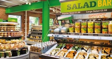 Morrisons Salad Bar £2.50 part of £3 meal deal!