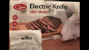 Quest electric knife £4 @ Wilko instore (Weymouth)