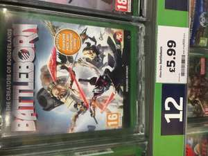 Battleborn Xbox one £5.99 @ Sainsbury's instore (Hastings)