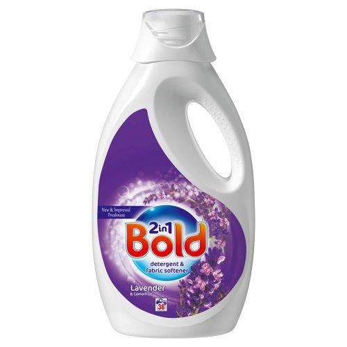 Bold 2in1 Liquid Lavender and Camomile 1.9L (38 wash) £3.50 instore @ Wilko