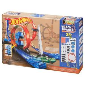Hot Wheels Track Builder 35+ £10 was £29.99 instore @ Tesco