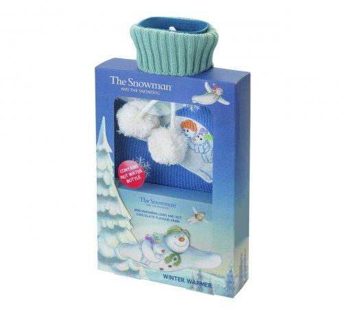 Snowman hot water bottle gift £4.75 @ Argos (Free C&C)
