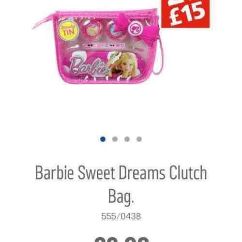 barbie sweet dreams clutch bag £3.99 instore @ Argos