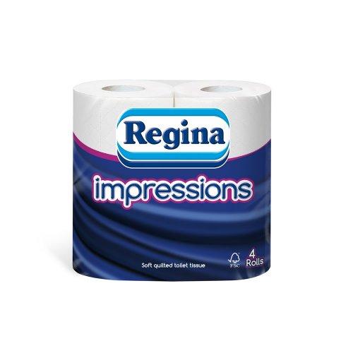Regina Impressions 4pk toilet rolls 95p @ Wilko