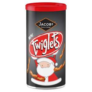 Tubs of Twiglets, Mini Cheddars and Treeslets (Cheeselets) Now only 50p instore in ASDA