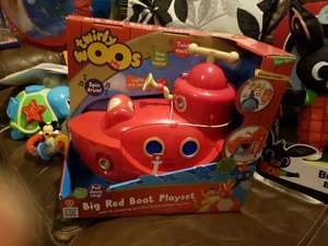 Twirlywoos big red boat playset £12.50 @ Tesco