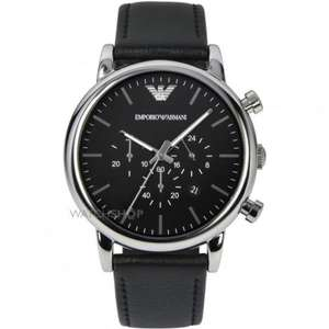 Men's Emporio Armani Chronograph Watch (AR1828) £113.00 @ watchshop / Use code (WSSALE10) for extra 10% off £101.70