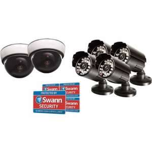 Swann DIY 6 Camera dummy CCTV Theft Prevention kit £24.95 (4.99 Delivery) Morgancomputers