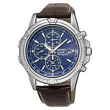 Seiko Solar Men's Chronograph Watch £110  H.Samuel