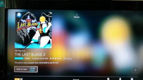 The Last Blade 2  £3.99 @ PSN uk