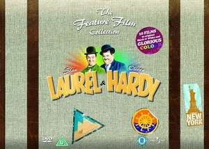 Laurel and Hardy: The Feature Film Collection (Box Set) [DVD] £12.24 includes free delivery using code SIGNUP10 @ zoom.co.uk