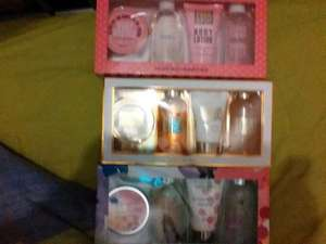 Large gift sets Bath shower gel and body lotion now £1.50 at poundland