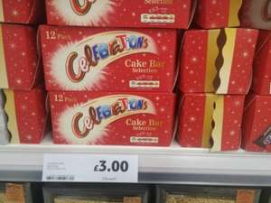 Celebrations Cake Bar Selection 12 pack scanning at 75p @ Tesco instore aldershot