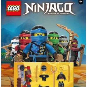 Official LEGO® Ninjago Annual 2017  99p (Prime) / £3.98 (non Prime) at Amazon