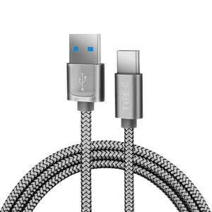 JS USB C to USB 3.0 Cable Hi-speed Nylon Braided Cable with Cable Tie - Amazon Add On - 99p
