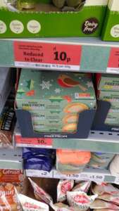 Sainsburys free from mince pies 10p instore (Stockport)