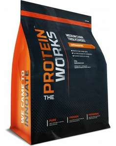 The Protein Works 500g MCT Use Epic75 code for 75% off - £10.49