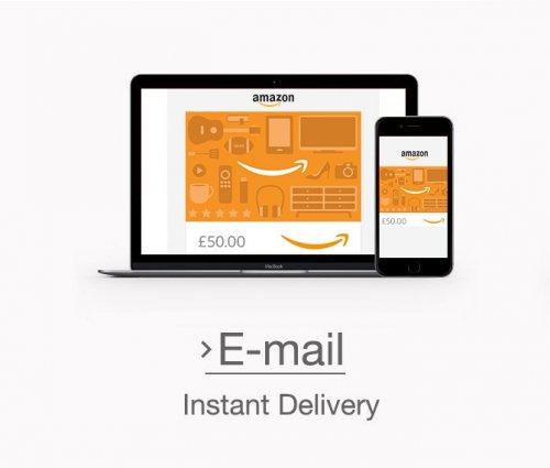 Amazon: Gift Card Balance Top Up £100, get £5 extra