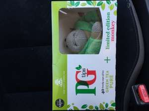 PG Tips Box of 40 Green with Limited Edition Monkey - £1.50 @ Co-operative