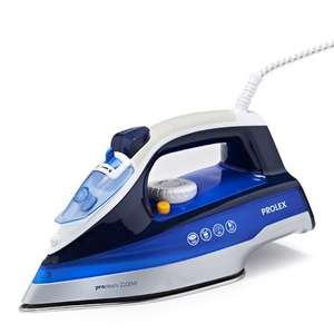 Prolex 2200w pro steam iron £4.99 in-store at B&M Blaydon.