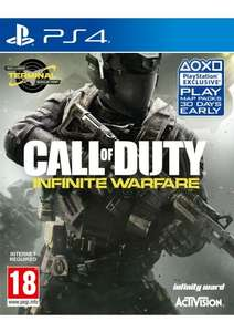 Call of Duty Infinite Warfare (incls Zombies in Space and Terminal bonus multiplayer map) PS4/XB1  £18.85  simplygames