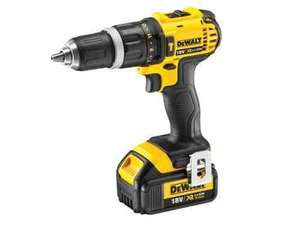 DeWalt DCD785M1 XR 2 Speed Combi Drill 18 Volt 1 x 4.0Ah Li Ion £129 @ UK Tool center