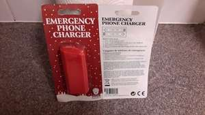 Battery operated USB phone charger 25p poundland