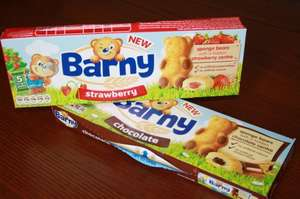 Barny Sponge Bars 5 Pack 150G and ABC Bears 6 Pack 150G 2 for £1 at Herons