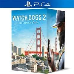 Watch Dogs 2 San Francisco Edition PS4/Xbox One £29.99 @ Game