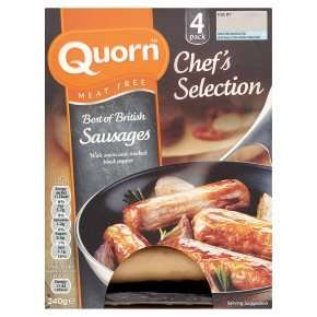 Quorn Chef's Selection Best of British Sausages £1 @ Waitrose w/MyWaitrose card