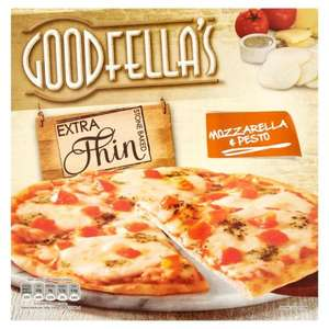 Morrisons: Goodfella's Extra Thin  Pizza 319g £2.25 down to £1