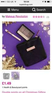 Makeup Revolution handbag hacks. Was £3.99 now £1.49 @ superdrug free c&c or free del for card holders