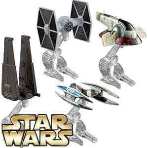 Star Wars Hot wheels vehicles £9.99 @ Home Bargains