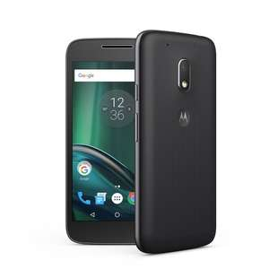 "Moto G4 Play 5"" HD, Android 6.0.1 (Black) - now £74.26 delivered with codes stack @ Motorola"