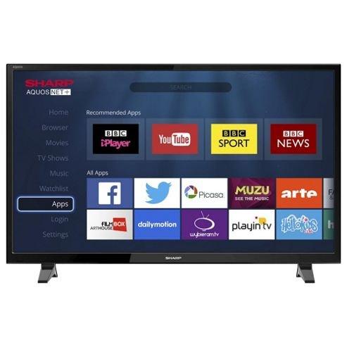 "Sharp 48"" Smart LED TV 48-LC48CFF6001K £250 at Sainsbury's - Oldham"