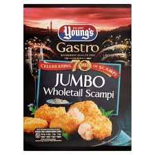 Young's Jumbo Whole Scampi 220g £2.12 in sainsburys (instore)