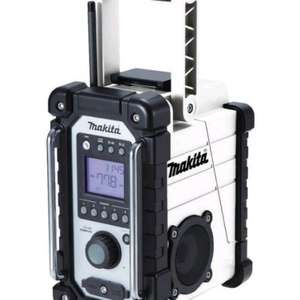 MAKITA DMR102 WHITE JOB SITE RADIO - £69.95 (Free C&C) @ D&M Tools