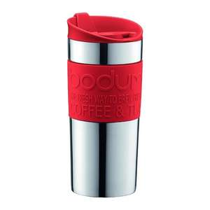 Bodum stainless steel travel mugs £10.99 at currys, free delivery