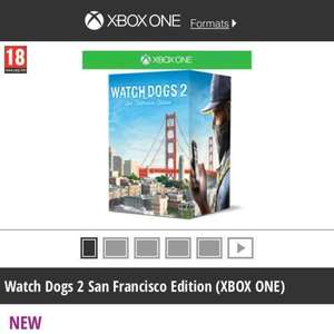 Watch Dogs 2 San Francisco Edition Xbox One £29.99 at Game