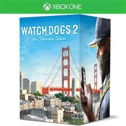 Watch Dogs 2 San Francisco Edition Xbox One+PS4 £29.99 @ Game INSTOCK!