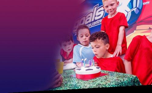 Goals Football Parties £75  for 10 children.