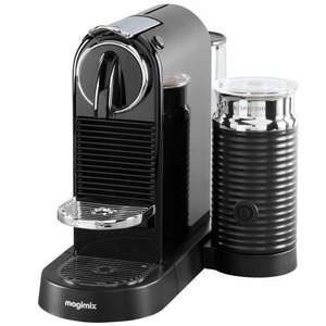 Nespresso Citiz & Milk Coffee Machine by Magimix in black £149.99 @ John Lewis