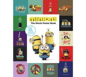 Minions Poster Book - BACK IN STOCK @ Argos - 9p!