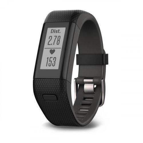 Fitness Tracker - Garmin Vivosmart HR+  Black Regular £140 at ultimateoutdoors