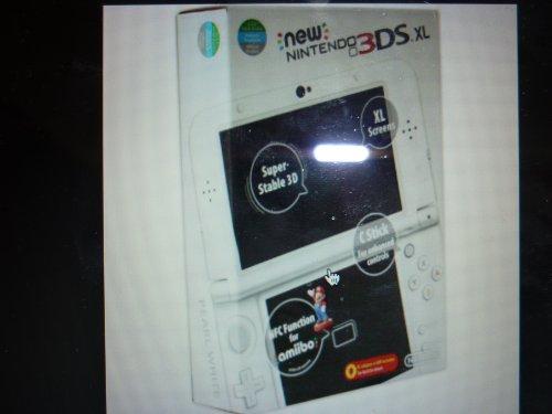nintendo 3ds xl pearl white console £169 @ Amazon