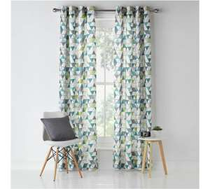 Unlined Eyelet Curtains - 117x137cm - £5.99 @ Argos