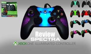POWER A XBOX ONE SPECTRA ILLUMINATED CONTROLLER £24.99 Tesco instore