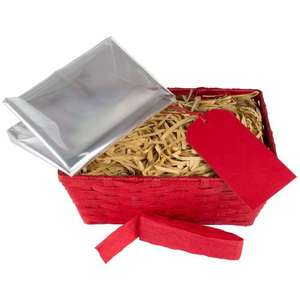 John Lewis 'Build Your Own' Small Hamper, Red, £2.40 (was £8), at John Lewis - £2 c&c